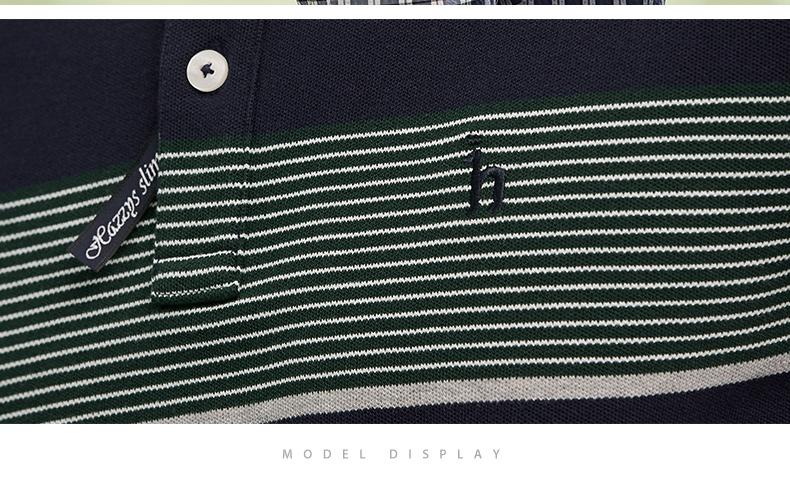 LG时装旗下中高端品牌 Hazzys 哈吉斯 男商务休闲Polo衫 图7