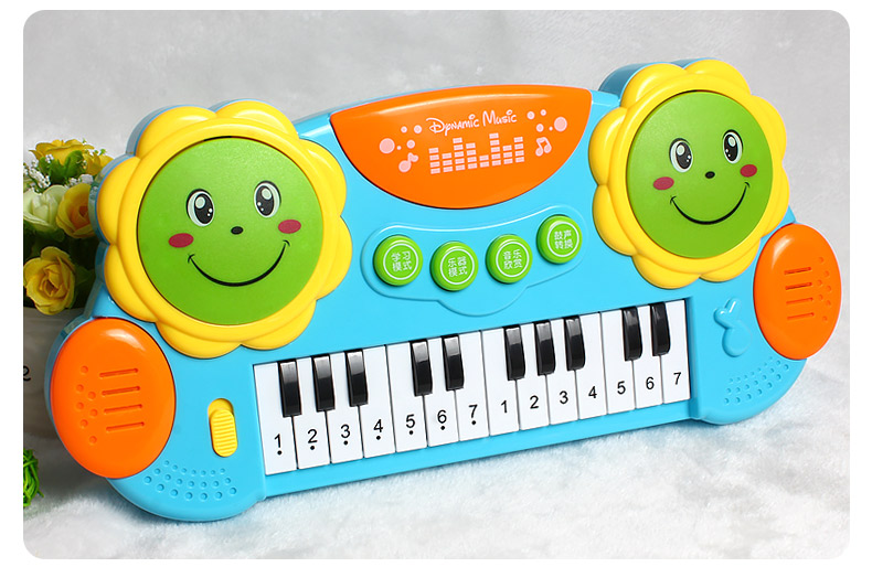 Musical Toys For 1 Year Olds : Multi function childrens organ patting drums puzzle boys and girls