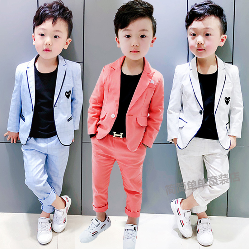 USD 75.39] Children suit boys wedding suit 12-3-4-5-6-7-year-old ...
