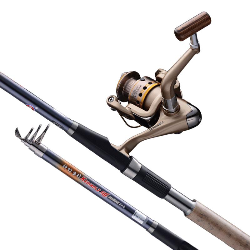光威力作海竿套装鱼竿 海钓竿超硬海杆远投抛竿碳素钓鱼竿