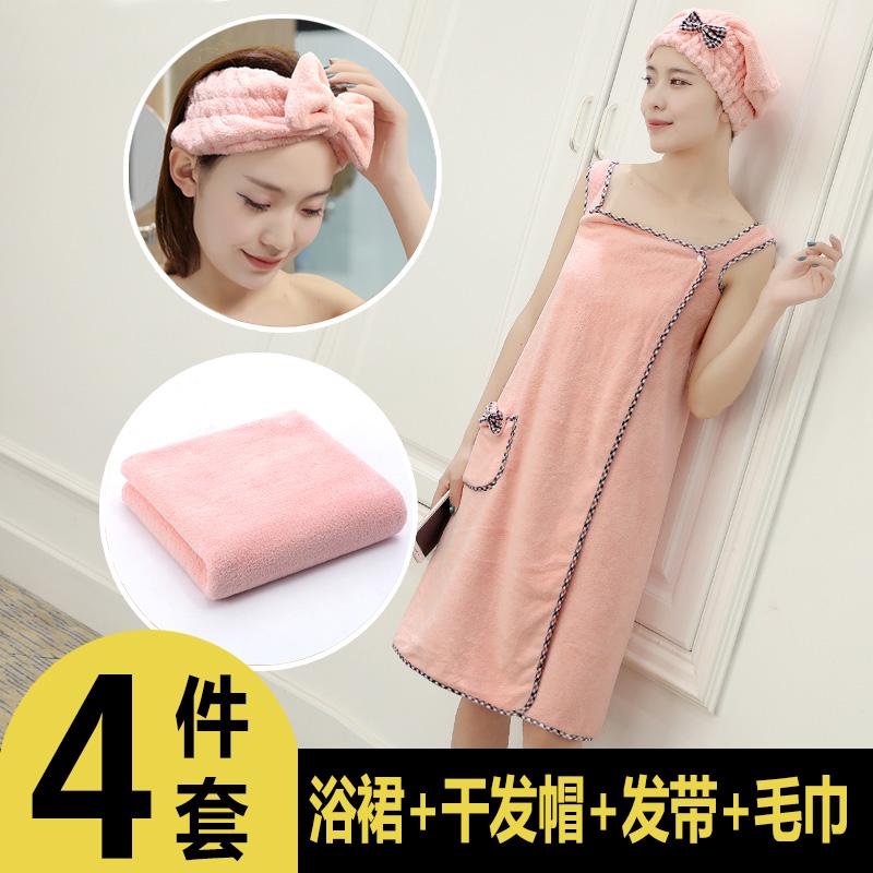 Банные полотенца можно носить и обернуть чистый хлопок мягкий Супер абсорбирующая верхняя женская женщина взрослая удивительная симпатичная корейская версия Юбка для ванны