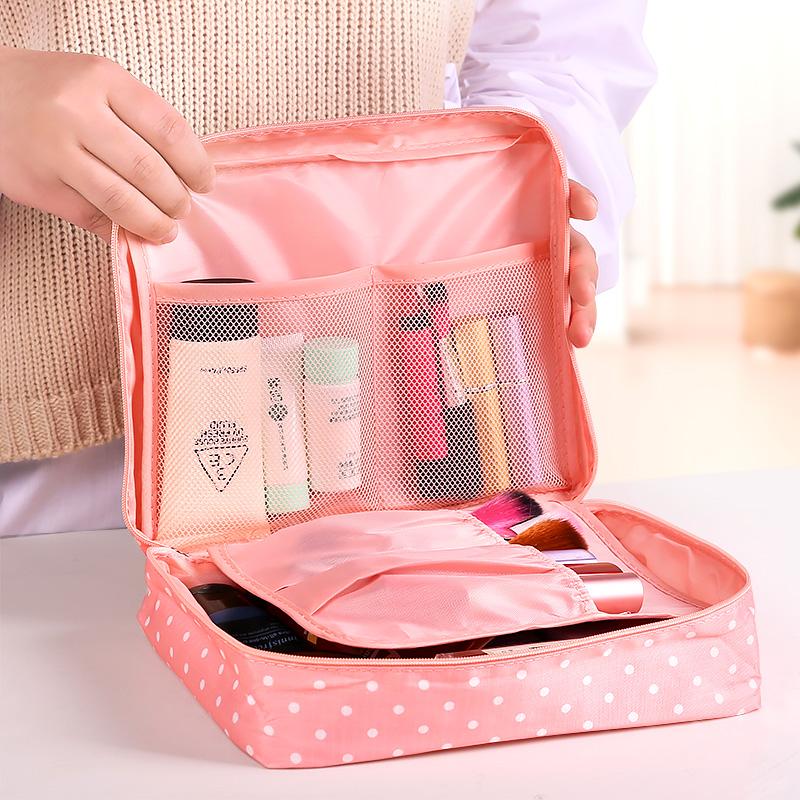 旅行化妆包小号便携韩国简约大容量品收纳袋少可爱女心随身洗漱包可领取领券网提供的3.00元优惠券