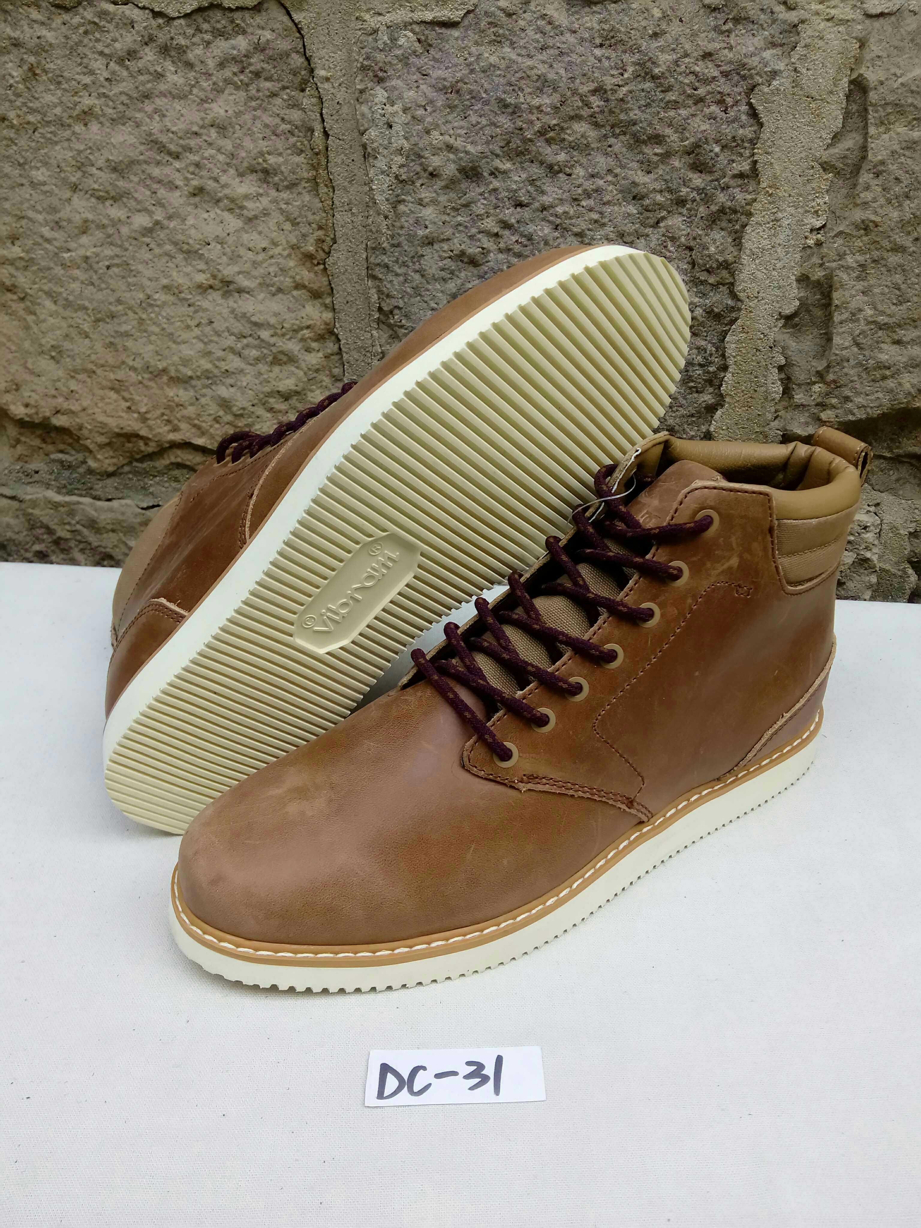 DC滑板鞋高帮牛皮另ADIO LAkAI cIRcA DvS工装男靴休闲鞋