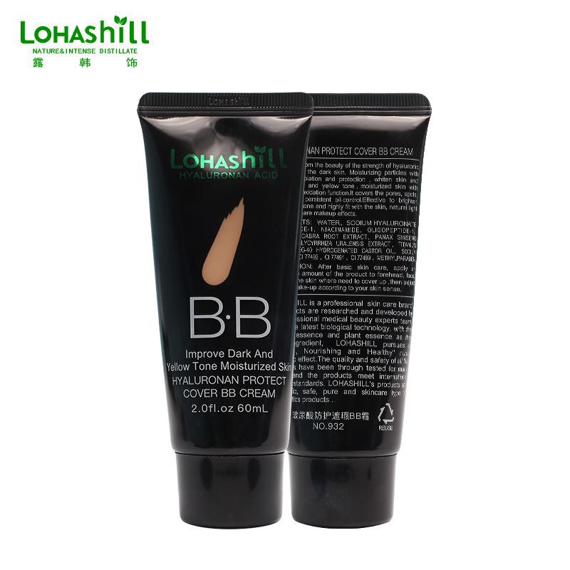 Korea Lohashill tiết lộ trang trí Hàn Quốc hyaluronic acid bảo vệ kem che khuyết điểm bb cream cách ly dưỡng ẩm lâu trôi cho lớp trang điểm khỏa thân - Kem BB