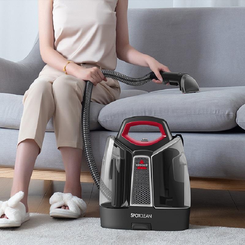 bissell必胜家用吸尘器有线喷抽吸拖一体小型布艺沙发地毯清洗机