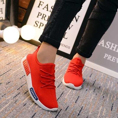 Men's Shoes Shoes Basketball Shoes Winter Soft Base Outdoor Summer Sports Running Shoes Spring Net Men Daily Red Black
