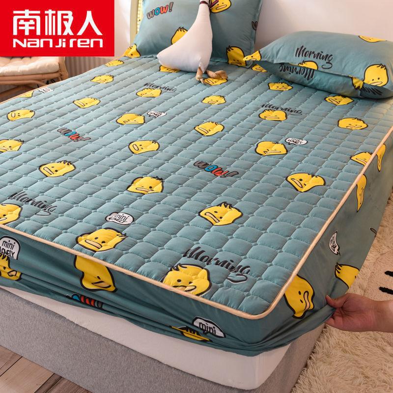 床笠加厚夹棉床罩单件床套床单床垫保护罩保�K护套全包