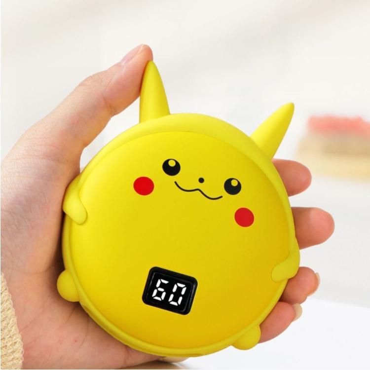 新款usb暖手宝充电宝卡通迷你电热宝暖宝宝随身充电两用自发热暖