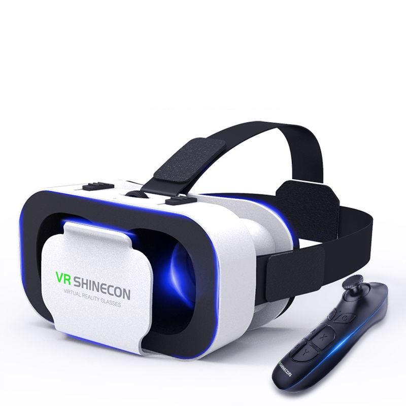 VR眼镜虚拟现实3D智能手机游戏苹果安卓手机吃鸡家庭vr体感游戏机