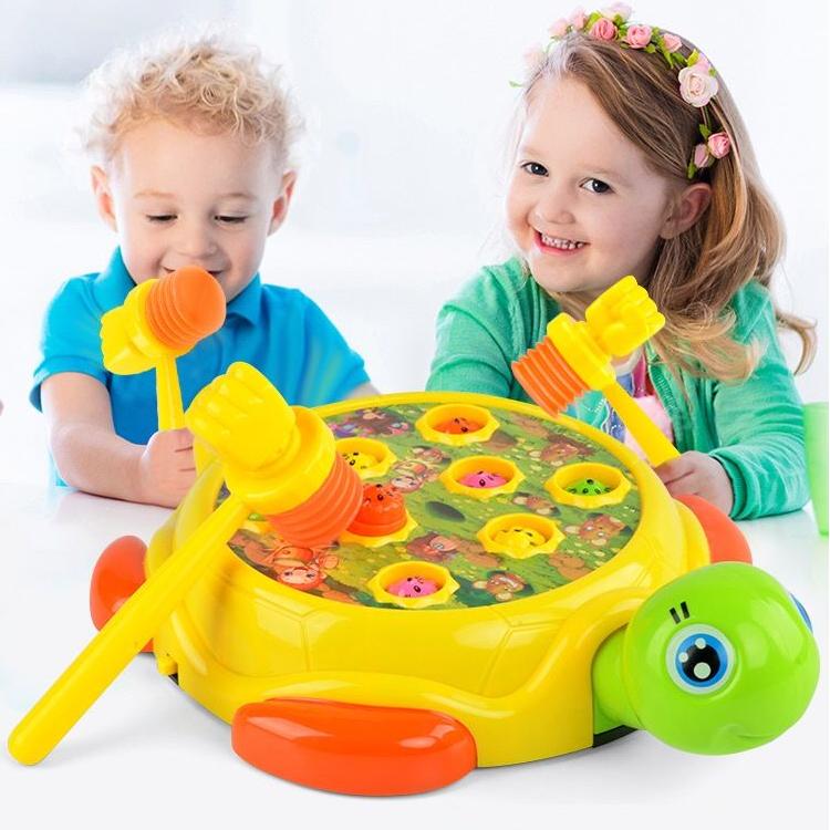 儿童打地鼠玩具益智大号充电动玩具