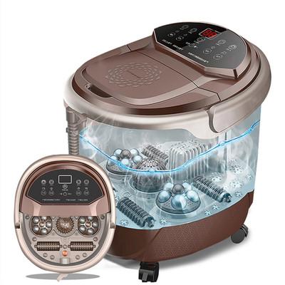 南极人泡脚桶全自动加热电动按摩足浴盆恒温高深桶洗脚盆家用神器