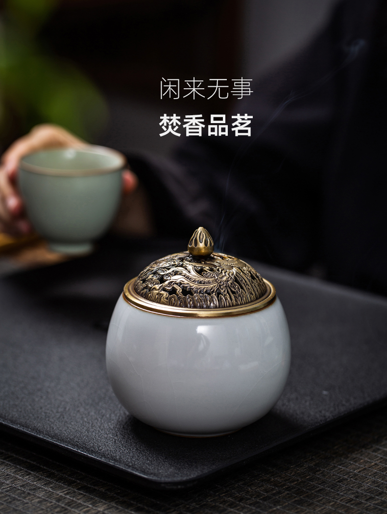 Your up incense coil incense buner small Japanese manual jingdezhen ceramic aromatherapy furnace interior carefully - selected spice appliance household