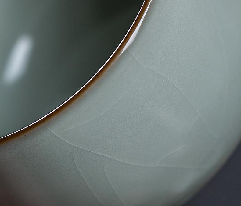 Your up tea set single kung fu tea tea tea cup master cup men 's large porcelain, single jingdezhen ceramics