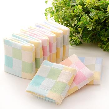 夏季10条装婴儿纱布毛巾