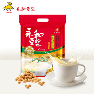Yonghe soya bean milk. The original soybean milk powder 450g contains 15 packets.