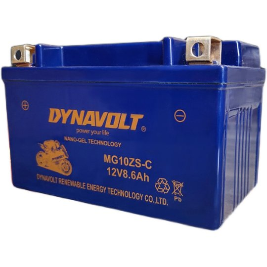 Swallow technology battery 12V8.6AH battery motorcycle free maintenance dry battery start with -MG10ZS-C