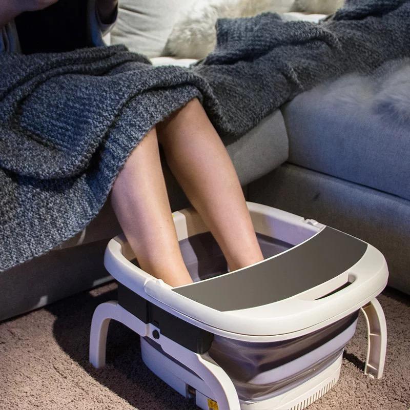 朗欣特折叠足恒温加热电动浴盆器全自动洗家用脚盆足疗泡脚桶足浴