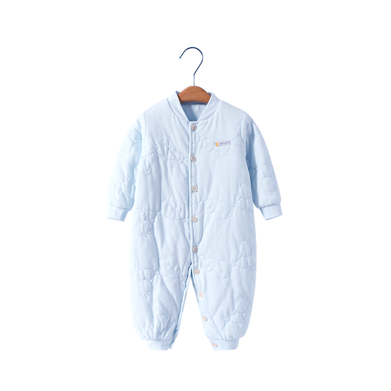 337015b4e USD 47.69  Tong Tai baby jumpsuit warm male baby clothes female ...