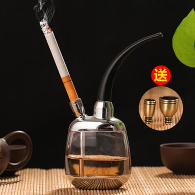 【双枪】香烟-烟丝两用健康水烟壶