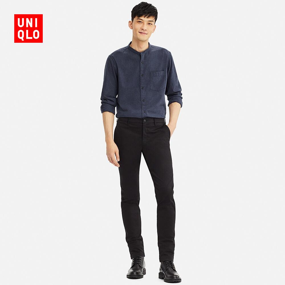 男装 法兰绒立领衬衫(长袖) 409285 优衣库UNIQLO