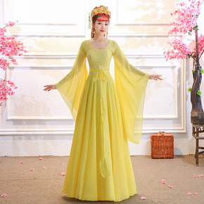 Ancient costume Han costume female Chinese style Han Tang ancient style ancient fairy wide sleeve fairy Classic Dance Costume