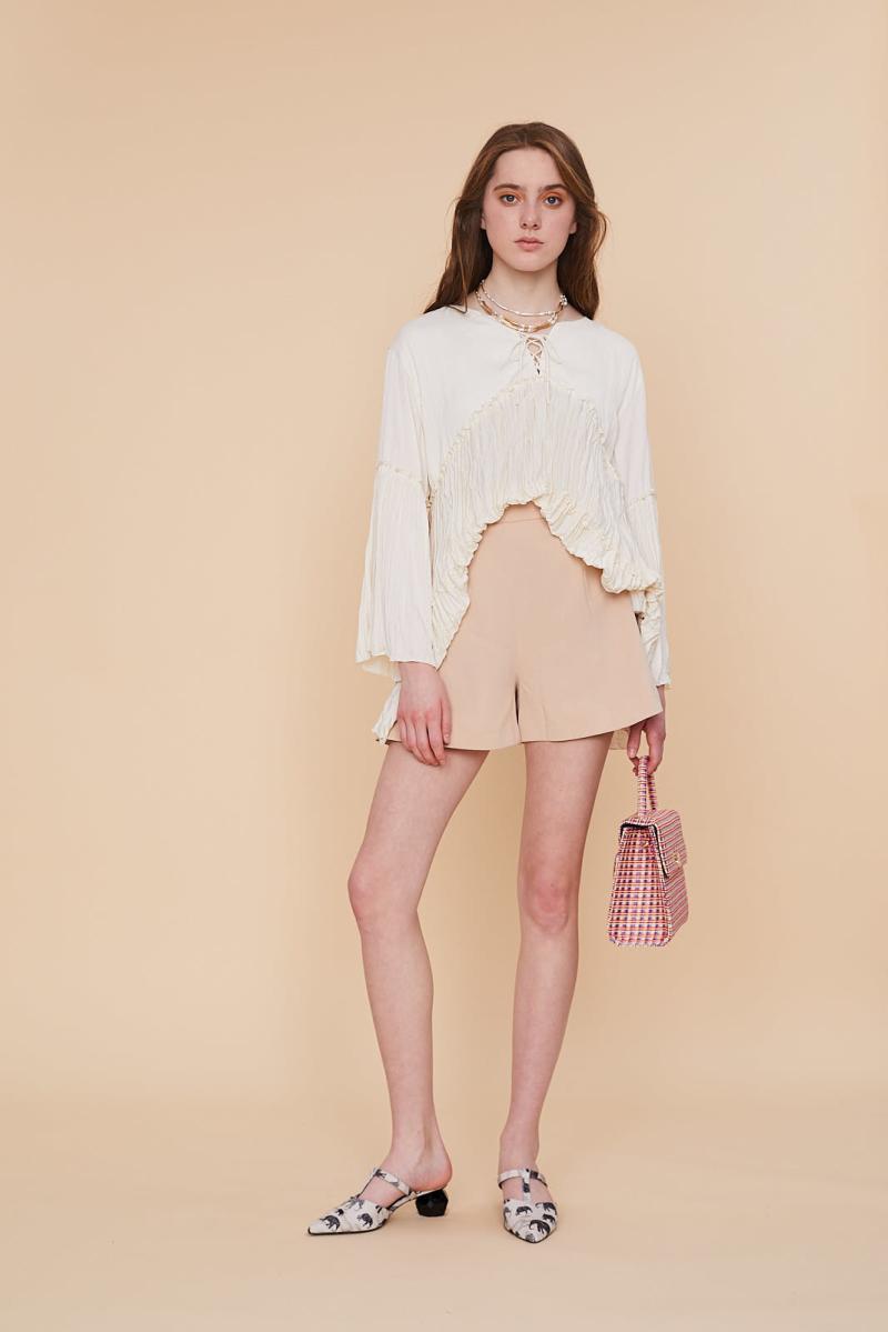 Lily Brown2019夏新品美系带小鱼尾短裙裤上市价格 750元