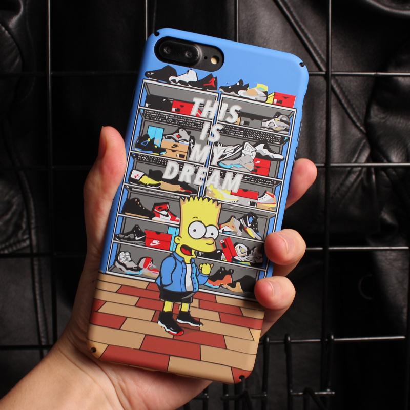 iPhoneX手机壳潮牌磨砂硬壳-给呗网