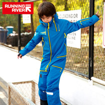 RUNNINGRIVER RUNNINGRIVER new products single and double board windproof men's and women's children's one-piece ski shirt W9741N