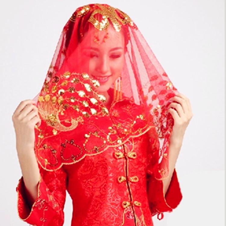 Свадьба статьи невеста головной убор выйти замуж красное покрытие глава счастливый хиджаб пряжа счастливый носовой платок монгольский шарф китайский стиль приветственное слово хиджаб ткань