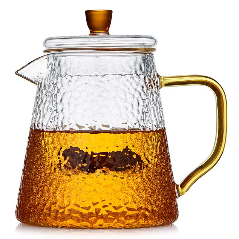 美斯尼 玻璃茶壶耐高温加厚过滤泡茶壶家用茶具套装大小号煮茶器