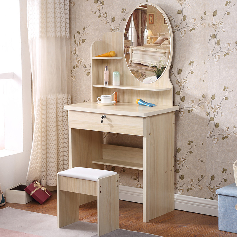 Small Apartment Dressing Table Bedroom Mini Dressing Table Simple Modern  Dressing Table European Net Red Dressing Table Dressing Cabinet