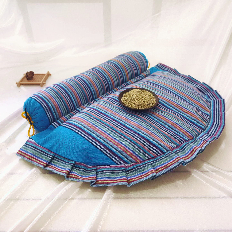 多功能艾草颈椎枕头修复颈椎专用艾草枕头护颈椎枕头颈椎修复枕头