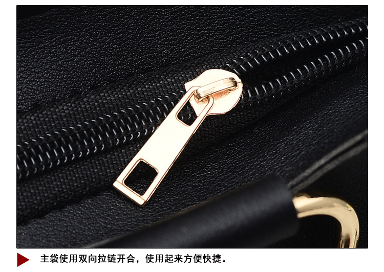 Women Bag Handbag Purse Ladies PU Leather Crossbody Bag 2Pcs/Leisure bag capacity big bag wholesale gray 22x21x10cm 27