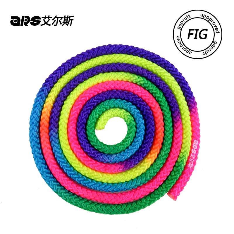 Международный стандартный цветная Художественная гимнастика веревка художественная гимнастика веревка искусство пять соревнований для 2.95 метра