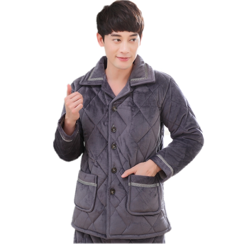 ... quilted pajamas winter flannel coat single jacket · Zoom · lightbox  moreview · lightbox moreview · lightbox moreview · lightbox moreview ·  lightbox ... 406fe4289