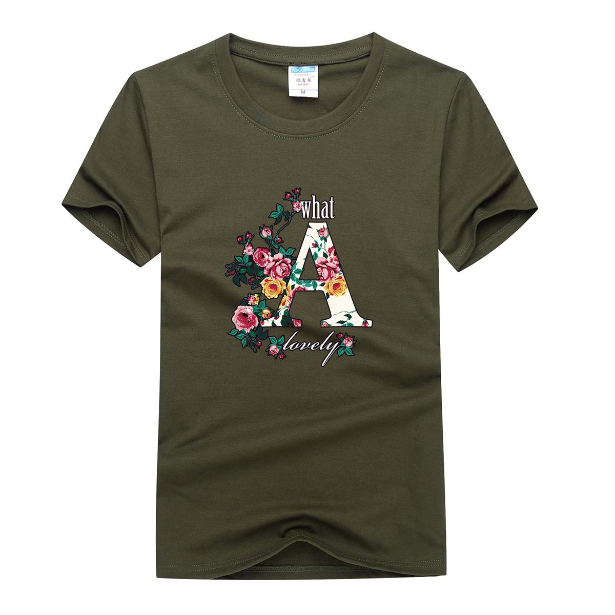Мужской короткий рукав T футболки хлопок свитер печать с коротким рукавом круглый вырез лето куртка одежда короткий рукав тенденция корейский свободный