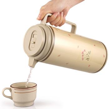 欧皇保温壶家用 热水瓶大容量保温水壶玻璃内胆保温瓶欧式暖水壶