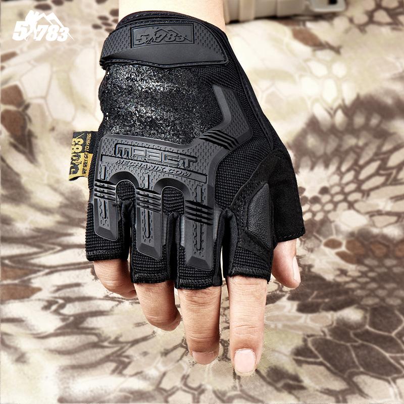 51783 армия фанатов на открытом воздухе умение модельние тактический перчатки без пальцев мужской и женщины специальный тип солдаты сетка борьба камуфляж восхождение верховая езда перчатки