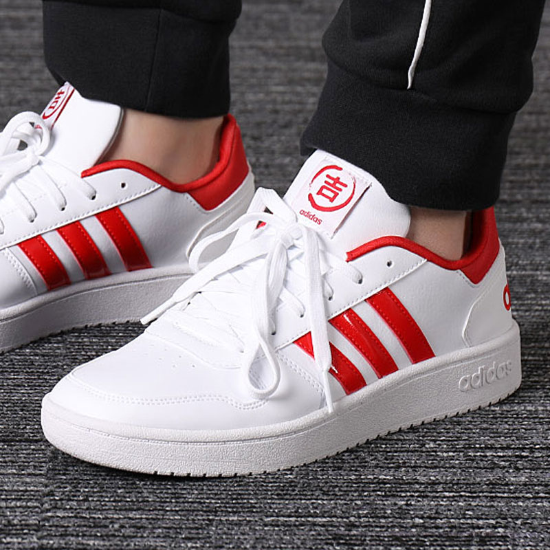 cheap for discount 8011d ecd1c Adidas Adidas men s shoes 2019 spring new shoes men s sports shoes casual  shoes small whiteboard shoes