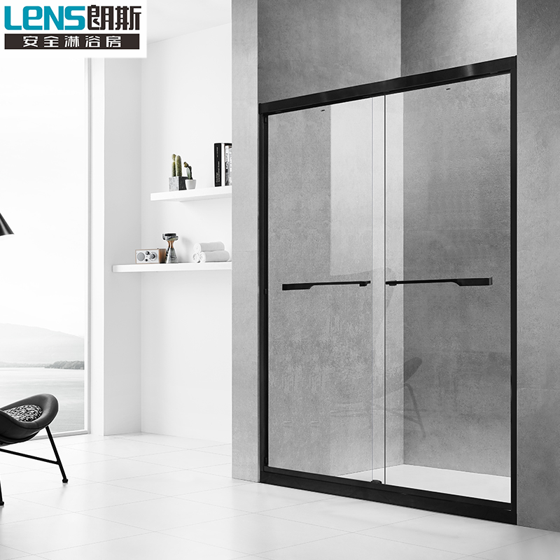 Longs shower room custom partition bathroom wet and dry separation NORD P22 8MM non-standard custom stone-free