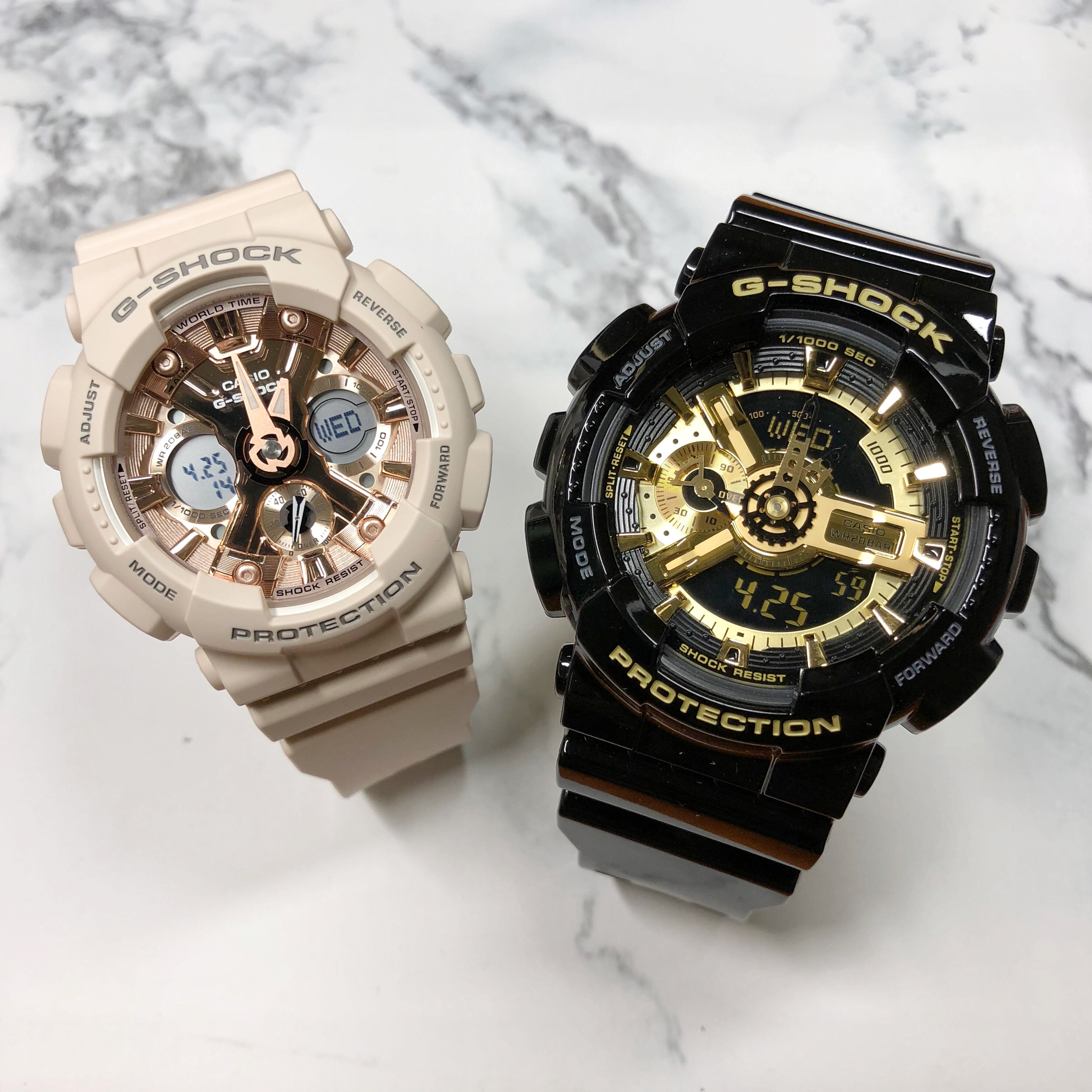 Casio Couple Watch G Shock Baby Limited Lov 17a 7a Electronic Ba 112 Ga 110gb 1