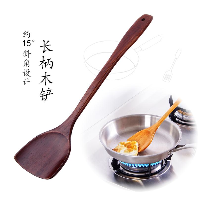 Палка горшок дерево косой лопата жарить блюдо специальный рис лопата кухня статьи деревянный сковорода жарить блюдо деревянная лопатка сын кухонные принадлежности шпатель