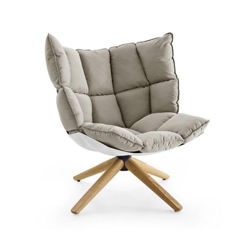 Дизайнерский скандинавский один Стул мышцы софы персоны для отдыха Стул обсуждения комнаты вращающееся кресло искусства ткани живущий присутствует поколение Стул шелухи риса