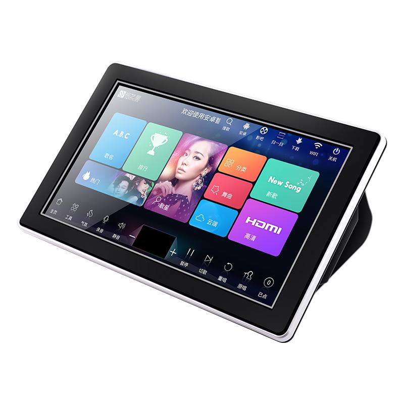 視藝星 G3點歌機雙系統一體機家庭KTV點唱機高清觸摸屏卡拉OK套裝