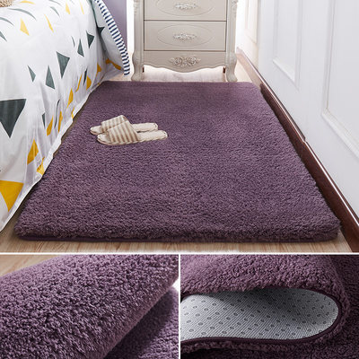 Bedside wool rug, bedroom full of cute room, girl's heart, bed mat, lazy living room, coffee table blanket
