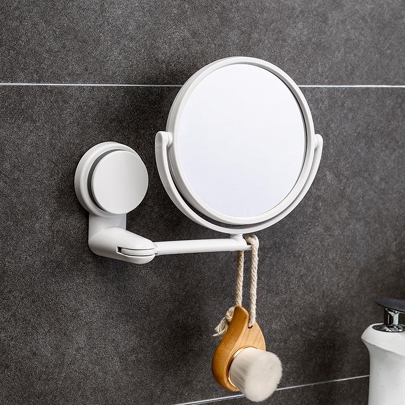 卫生间贴墙小浴室镜免打孔