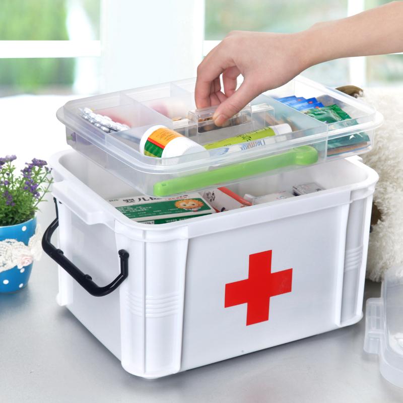 Small Household Size Household Medical Kit Box Box Box Box Of Medicine Drug  Pharmaceutical Drug Storage Box