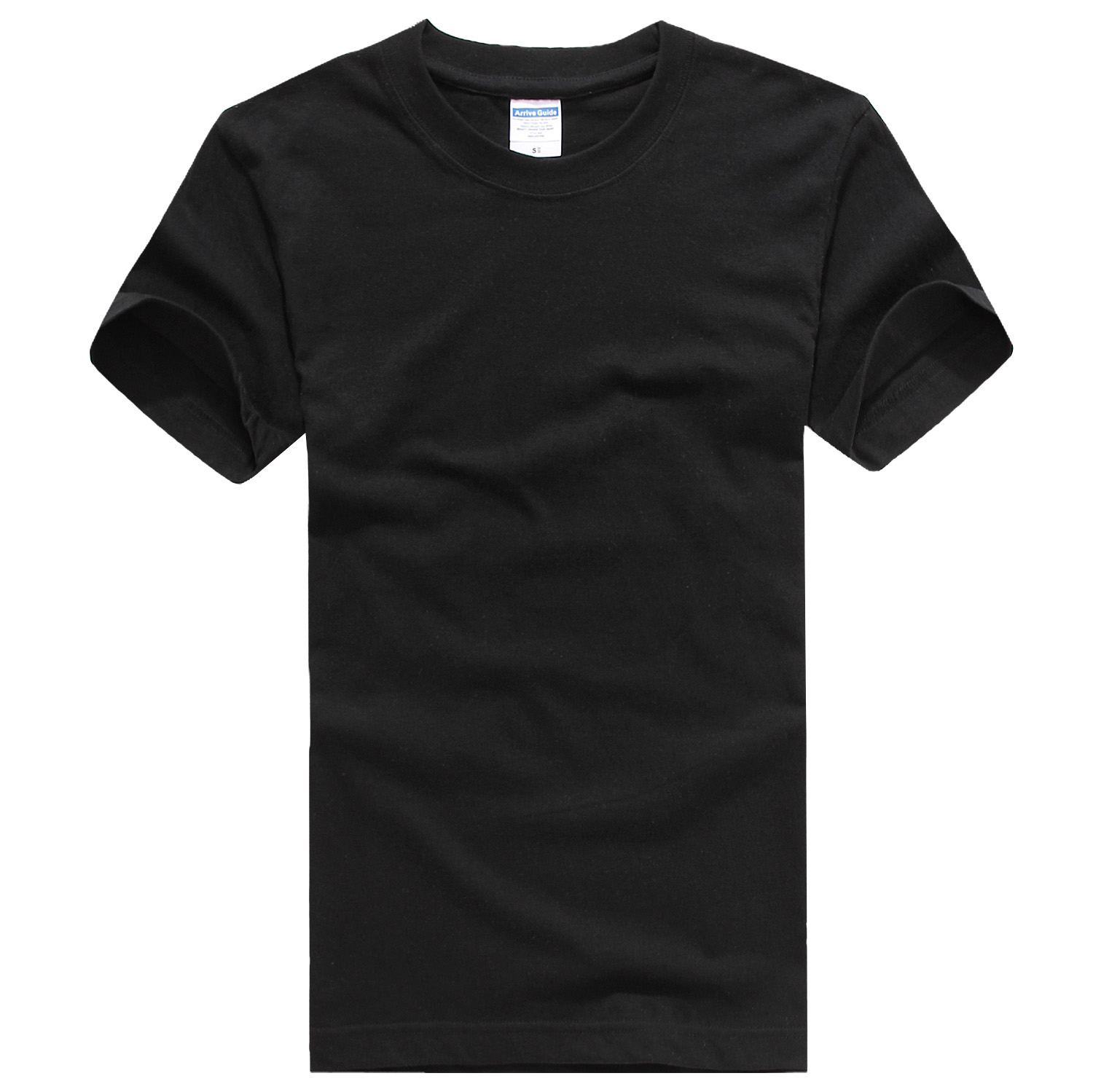 Round Neck Short Sleeve [black]