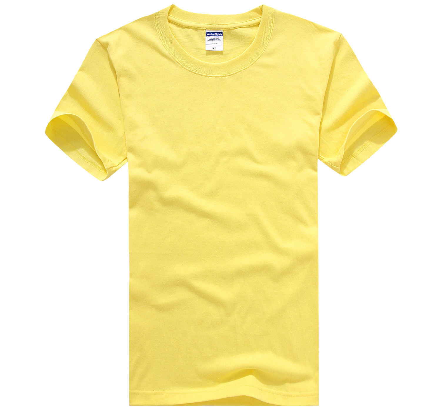 Round Neck Short Sleeve [yellow]