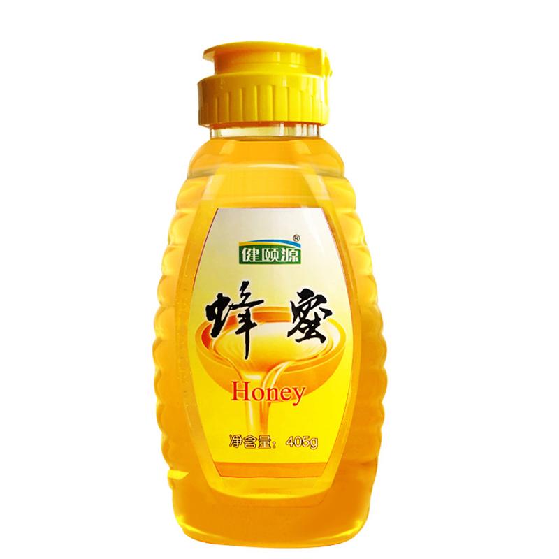 蜂蜜纯正天然成熟百花蜜农家自产野生多种花蜜小瓶便携土蜂蜜405g